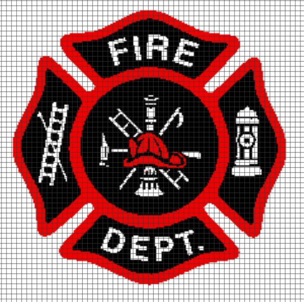 Fire Department – (Chart/Graph AND Row-by-Row Written Instructions) – 01