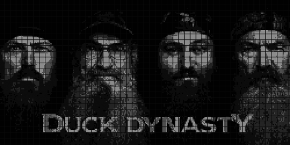 Duck Dynasty – (Chart/Graph AND Row-by-Row Written Instructions) – 02
