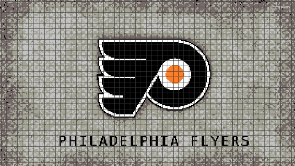 Philadelphia Flyers – (Chart/Graph AND Row-by-Row Written Instructions) – 04