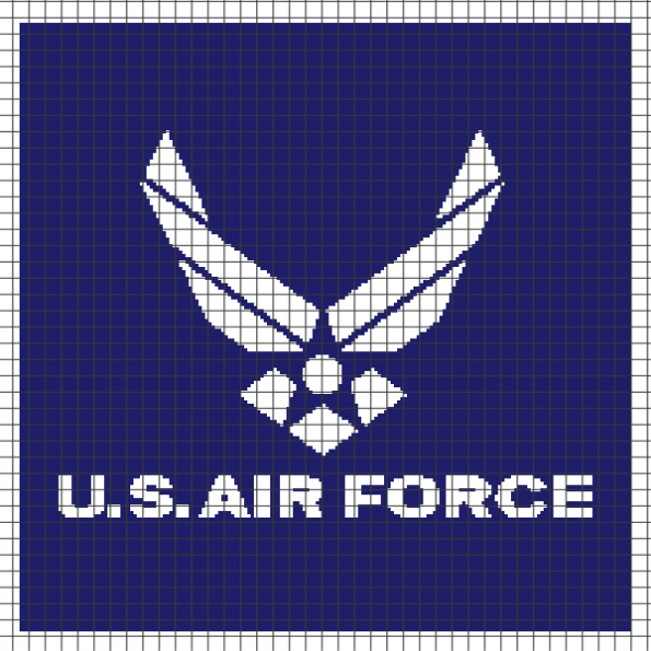 U.S. Air Force (Chart/Graph AND Row-by-Row Written Instructions) – 01