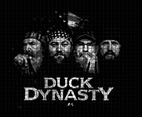 Duck Dynasty (Chart/Graph AND Row-by-Row Written Instructions) – 04