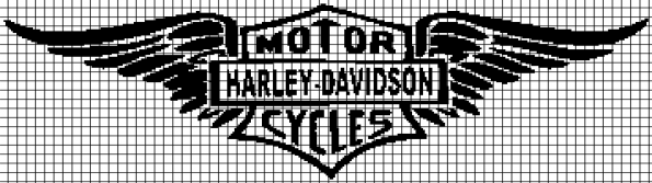 Harley Davidson Motorcycles (Chart/Graph AND Row-by-Row Written Instructions)