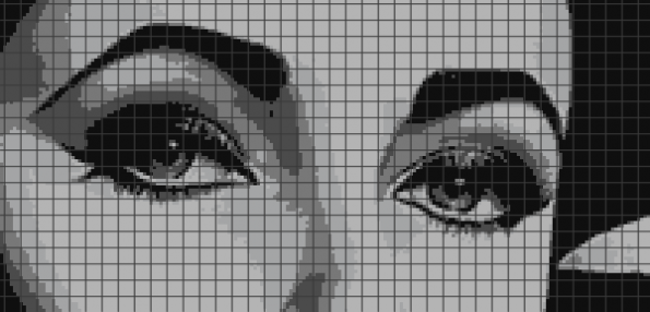 Elizabeth Taylor (Chart/Graph AND Row-by-Row Written Instructions) – 02