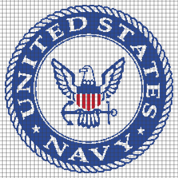 United States Navy (Chart/Graph AND Row-by-Row Written Instructions) – 03