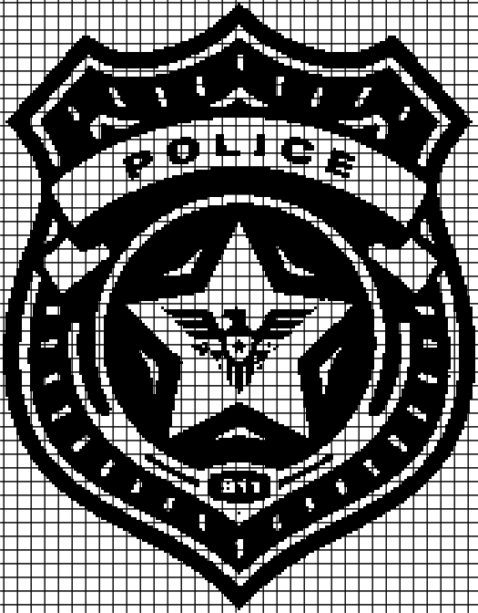 Police (Chart/Graph AND Row-by-Row Written Instructions) – 01