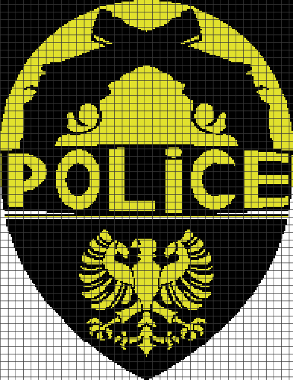 Police (Chart/Graph AND Row-by-Row Written Instructions) – 02