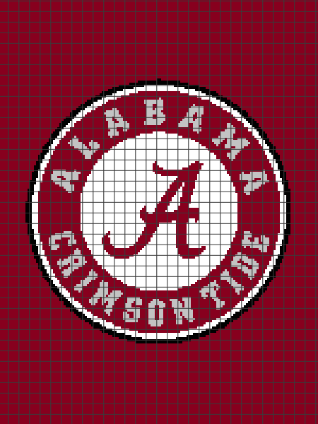 University of Alabama (Chart/Graph AND Row-by-Row Written Instructions)