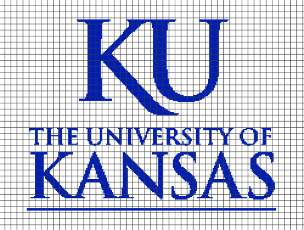 University of Kansas (Chart/Graph AND Row-by-Row Written Instructions)