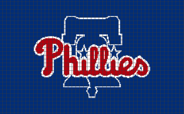 Philadelphia Phillies (Chart/Graph AND Row-by-Row Written Instructions) – 01