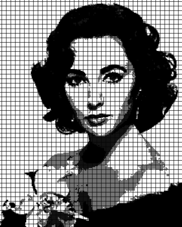 Elizabeth Taylor (Chart/Graph AND Row-by-Row Written Crochet Instructions) – 03