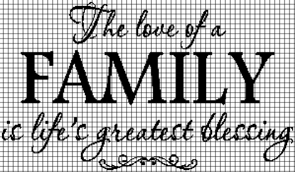 The Love of a Family… (Chart/Graph AND Row-by-Row Written Crochet Instructions) – 02