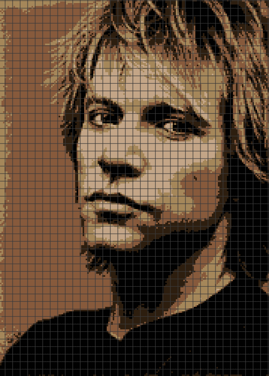 Jon Bon Jovi (Chart/Graph AND Row-by-Row Written Crochet Instructions) – 03