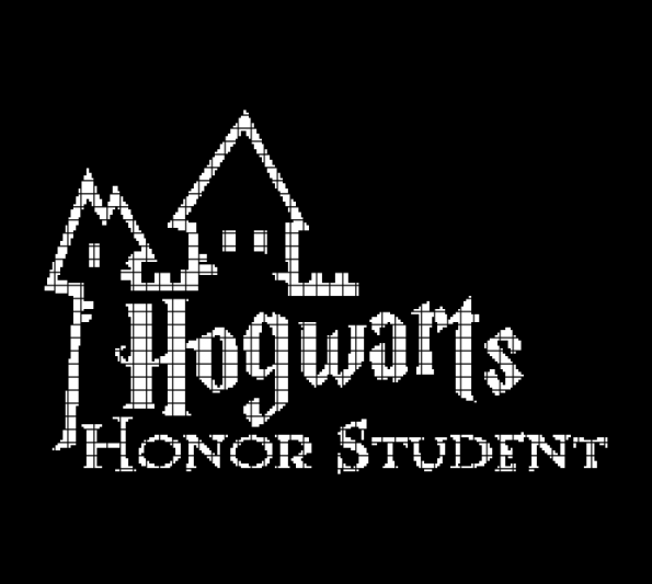 Hogwarts Honor Student – Harry Potter (Chart/Graph AND Row-by-Row Written Crochet Instructions) – 02