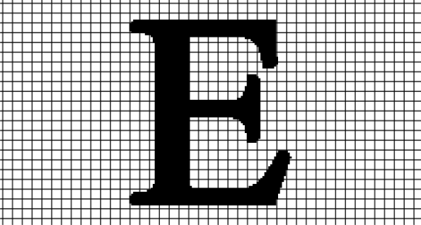 E – Times New Roman (Chart/Graph AND Row-by-Row Written Crochet Instructions)