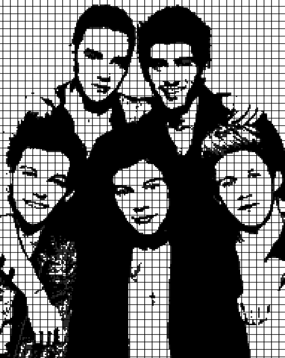 One Direction (Graph AND Row-by-Row Written Crochet Instructions) – 01