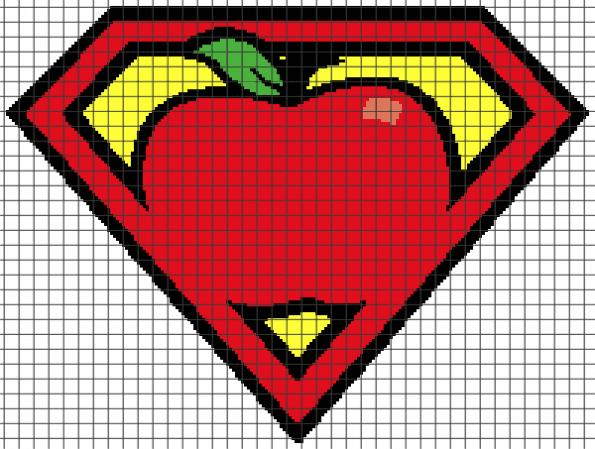 Super Teacher (Graph AND Row-by-Row Written Crochet Instructions) – 02
