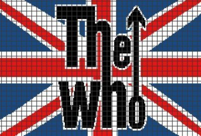 The Who (Graph AND Row-by-Row Written Crochet Instructions) – 01