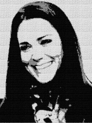 Kate Middleton (Graph AND Row-by-Row Written Crochet Instructions) – 03