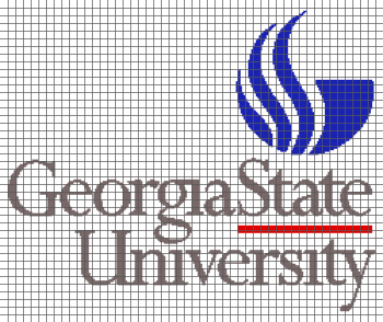 Georgia State University - (Graph AND Row-by-Row Written Crochet Instructions) - 01