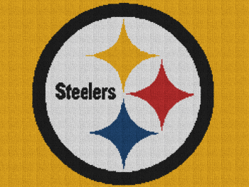 Pittsburgh Steelers - Single Crochet Written Graphghan Pattern - 01 (250x188)