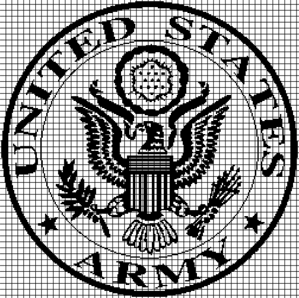 United States Army (Chart/Graph AND Row-by-Row Written Instructions) – 03