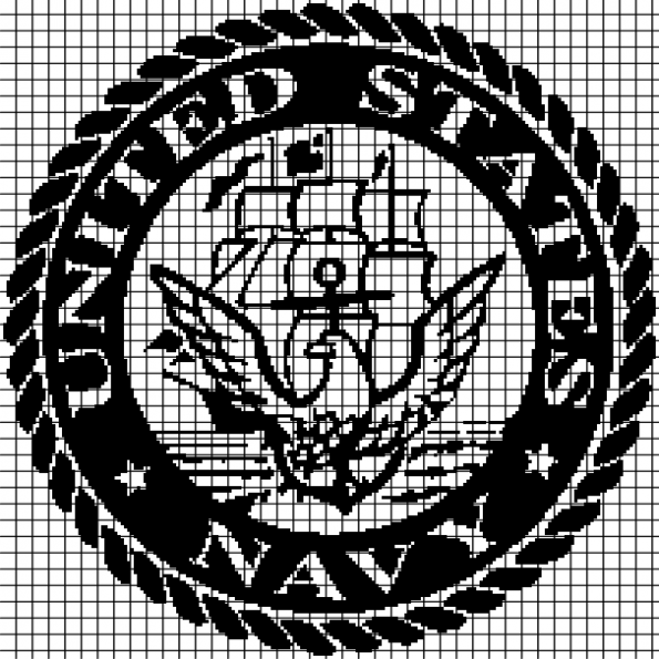 United States Navy (Chart/Graph AND Row-by-Row Written Instructions) – 01