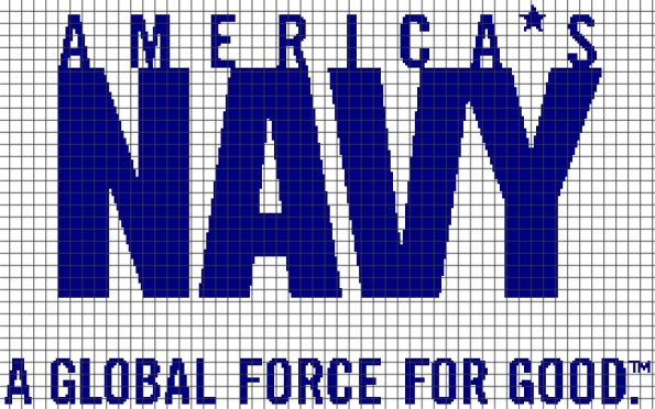 America's Navy (Chart/Graph AND Row-by-Row Written Instructions) – 02