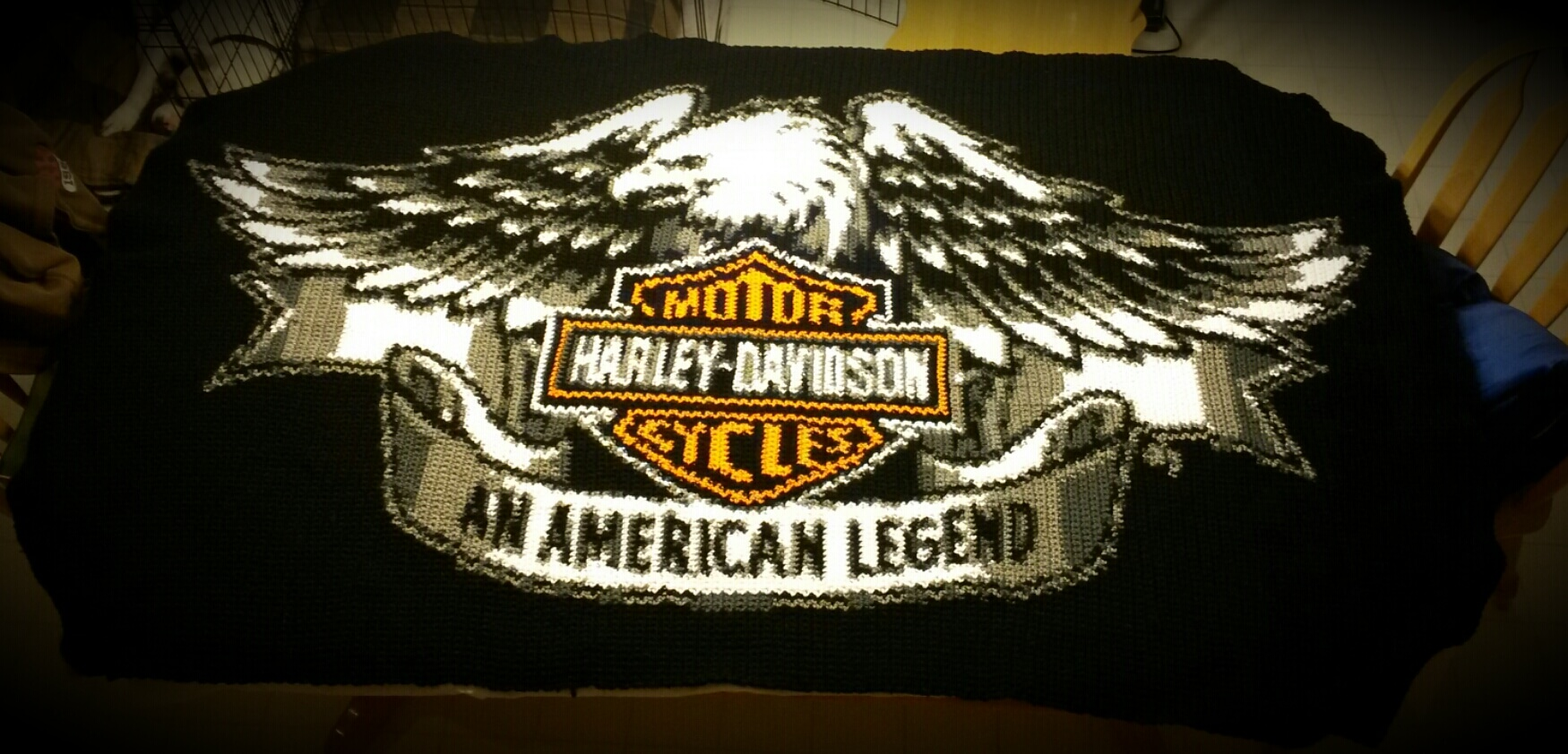 Harley Davidson Customer Completed Product Yarnloveaffair
