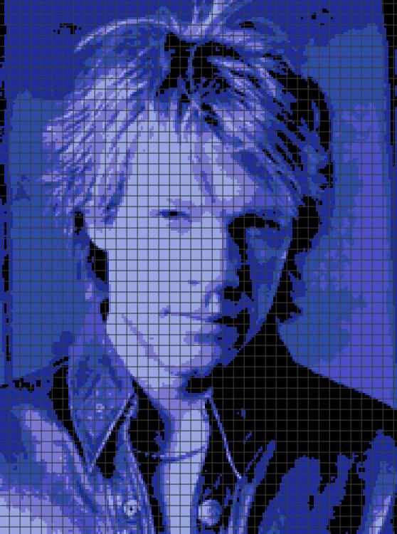 Jon Bon Jovi (Chart/Graph AND Row-by-Row Written Crochet Instructions) – 04