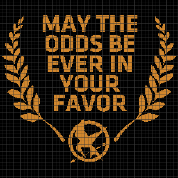 Hunger Games (Chart/Graph AND Row-by-Row Written Crochet Instructions) – 01