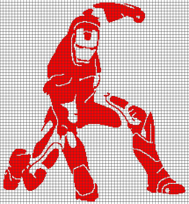 Iron man Crochet Pattern Instant PDF Download by BunniesandYarn ...   696x645