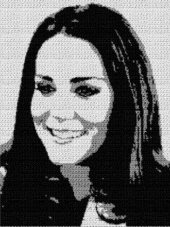 Kate Middleton (Graph AND Row-by-Row Written Crochet Instructions) - 02