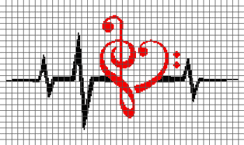 Music Love - Heartbeat (Graph AND Row-by-Row Written Crochet Instructions) - 12