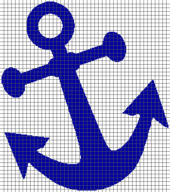 Anchor - (Graph AND Row-by-Row Written Crochet Instructions) - 03