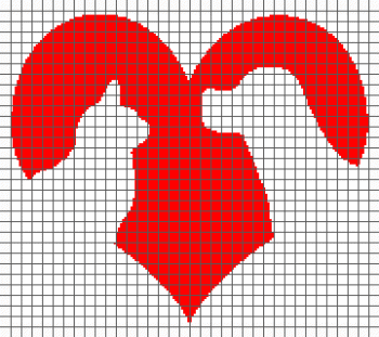 Cat & Dog Love - (Graph AND Row-by-Row Written Crochet Instructions) - 02