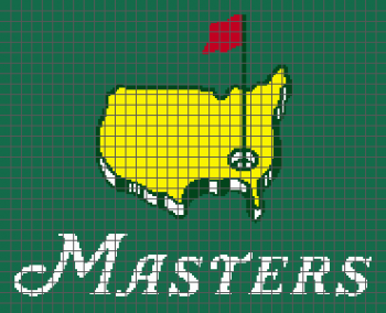 The Masters Golf Tournament - (Graph AND Row-by-Row Written Crochet Instructions) - 01