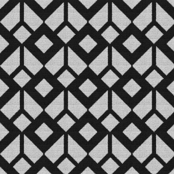 Geometric Pattern - (Graph AND Row-by-Row Written Single Crochet Instructions) - 01