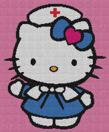 Hello Kitty Nurse RN