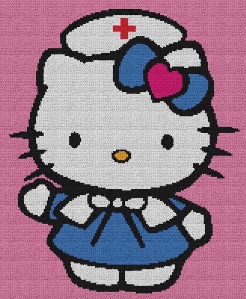 Hello Kitty Nurse RN