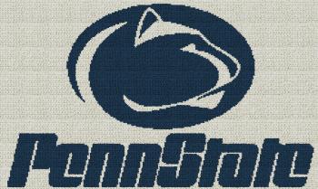 Penn State - Single Crochet Written Graphghan Pattern - 01 (250x149)