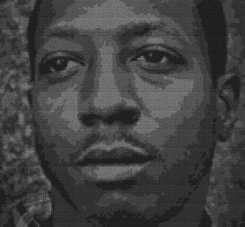 Kalief Browder - Single Crochet Written Graphghan Pattern - 01 (150x139)