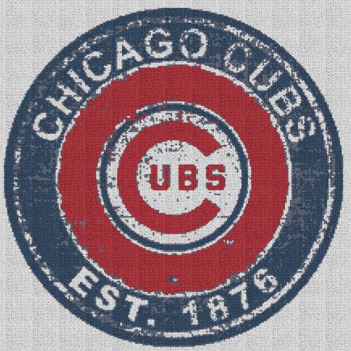 Vintage Chicago Cubs - Single Crochet Written Graphghan Pattern - 09 (220x220)