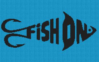 Fish On - Single Crochet Written Graphghan Pattern - 04 (209x130)