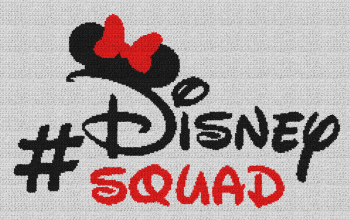 Disney Squad (Minnie Mouse) - Single Crochet Written Graphghan Pattern - 09 (240x147)