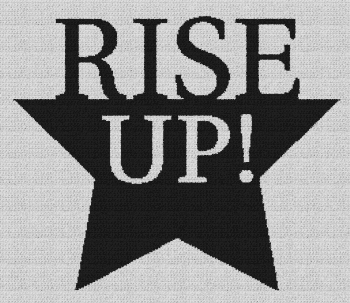 Rise Up! (Hamilton) - Single Crochet Written Graphghan Pattern - 02 (250x215)