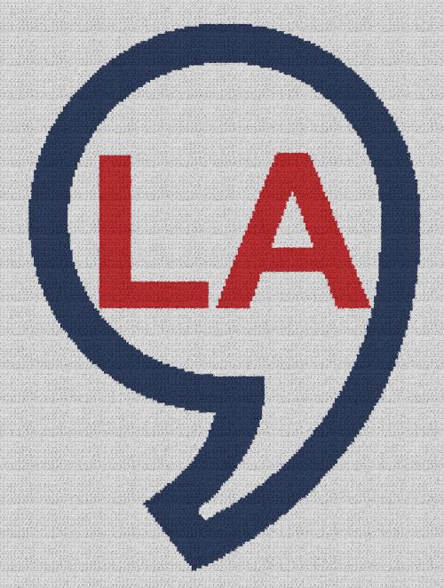 Comma la (Kamala Harris) - Single Crochet Written Graphghan Pattern - 02 (175x235)