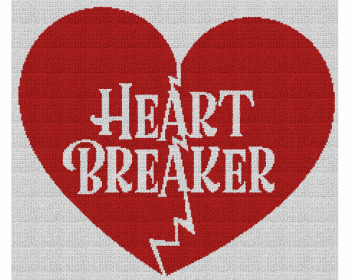 Heart Breaker - Single Crochet Written Graphghan Pattern - 07 (230x197)